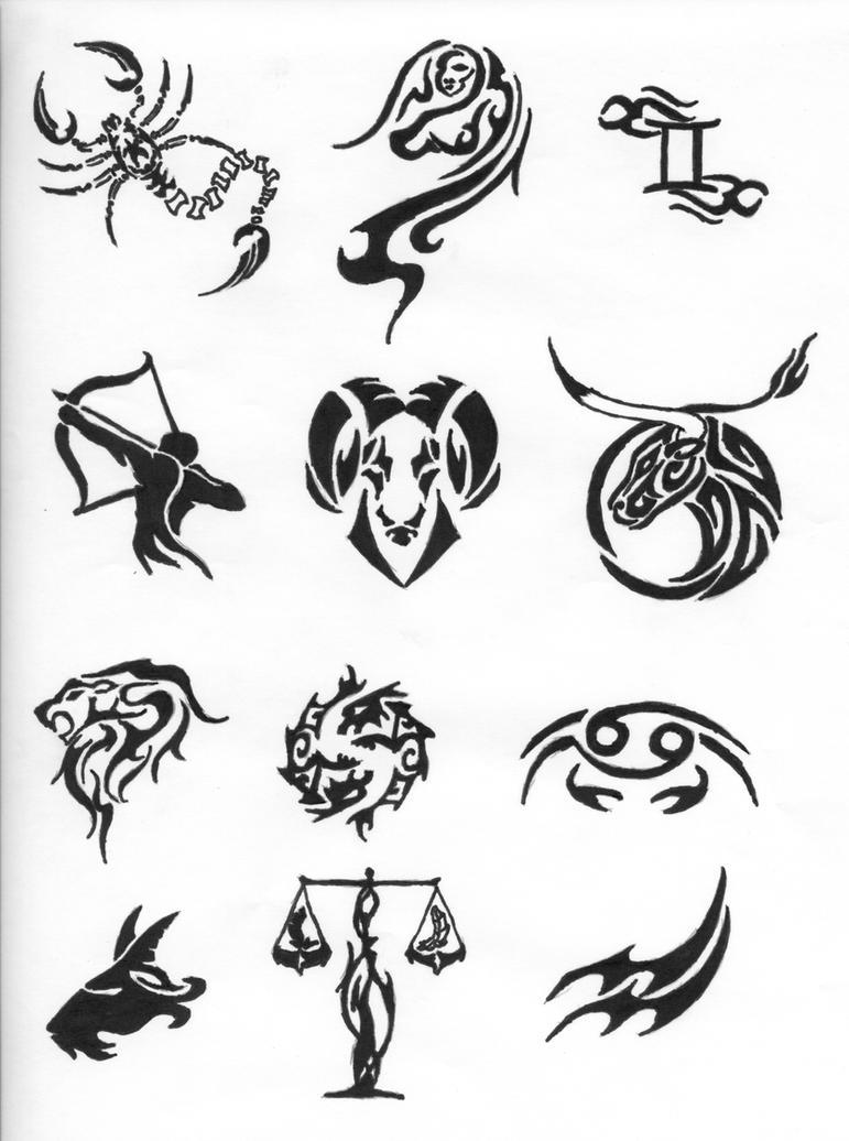Photos of Cancer Tattoos - Zodiac Tatoos