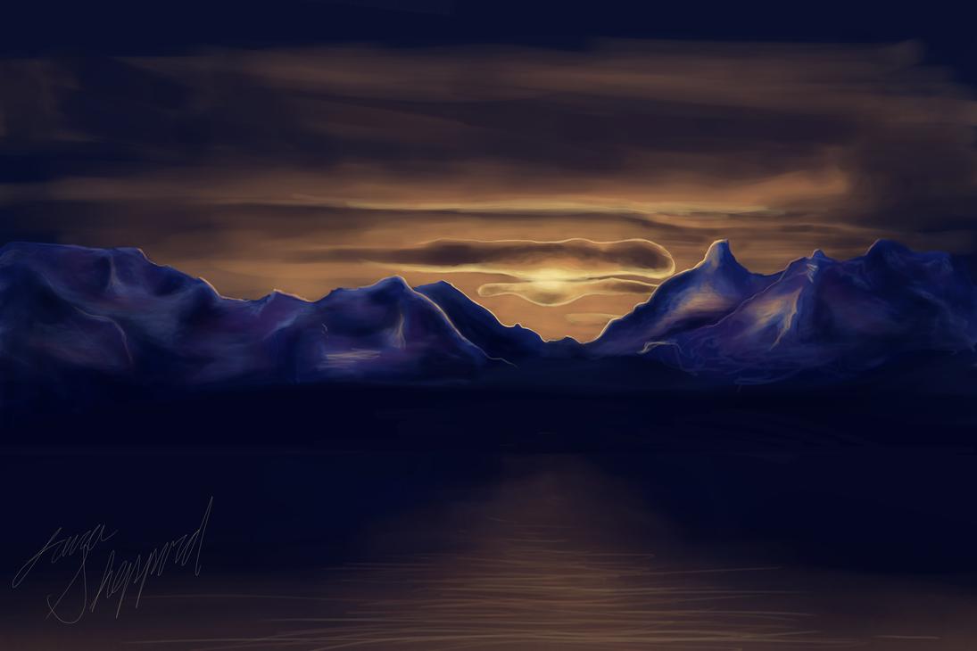 Sunset by SecretlySkilled