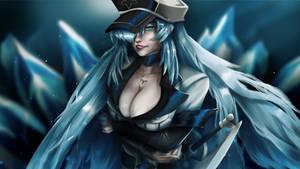 EsDeath - Akame Ga Kill Fan Art by rookie3pl