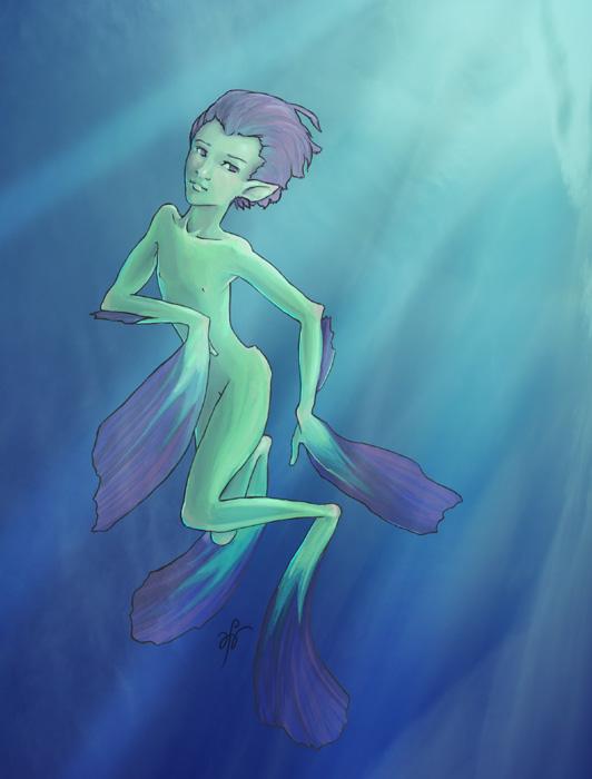 Aquasyndrel by inkwraith