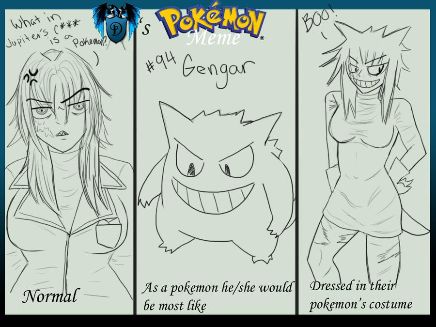 DA: Keiko as Gengar by BdayDesigns