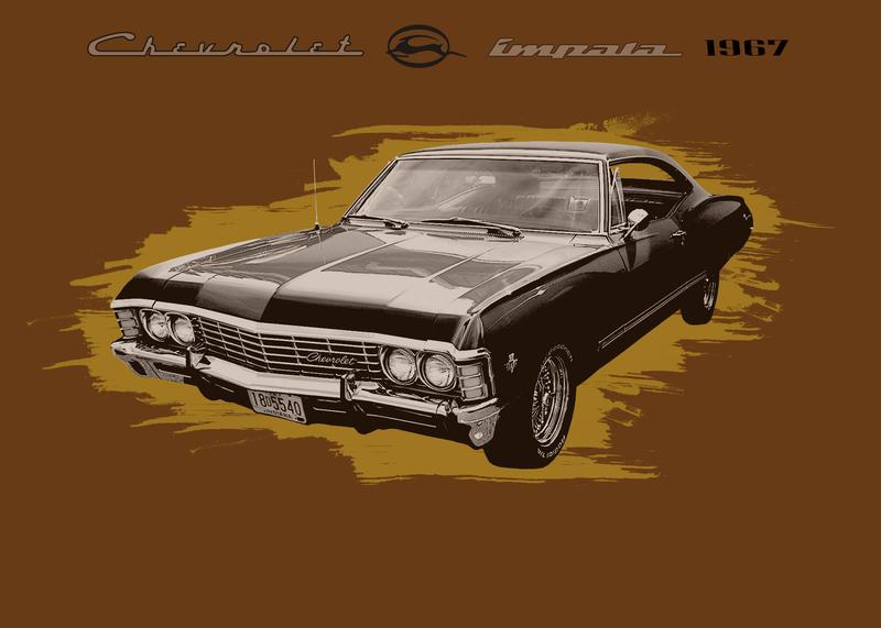 Chevrolet Impala 1967 by