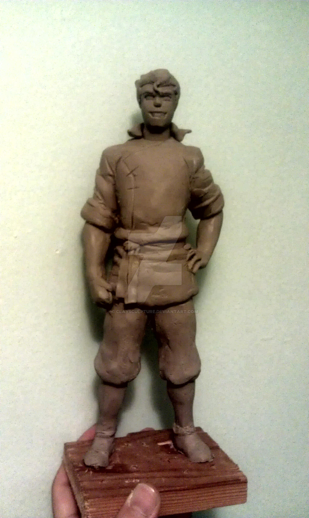 Bolin sculpture by Claysculpture