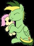 Didgeree's custom plushie -Fluttershy-