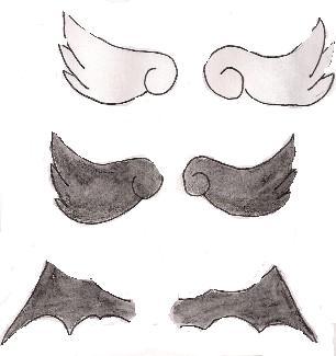 chibi angel wings - photo #38