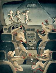 Roadkill Illustration