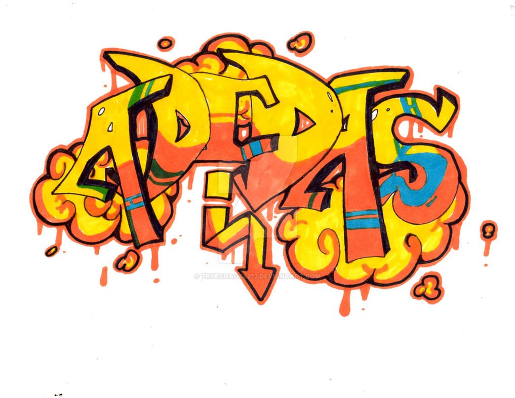 Adidas Graffiti by TrueChaos8272 on DeviantArt