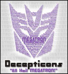 Typography - ALL Hail Megatron