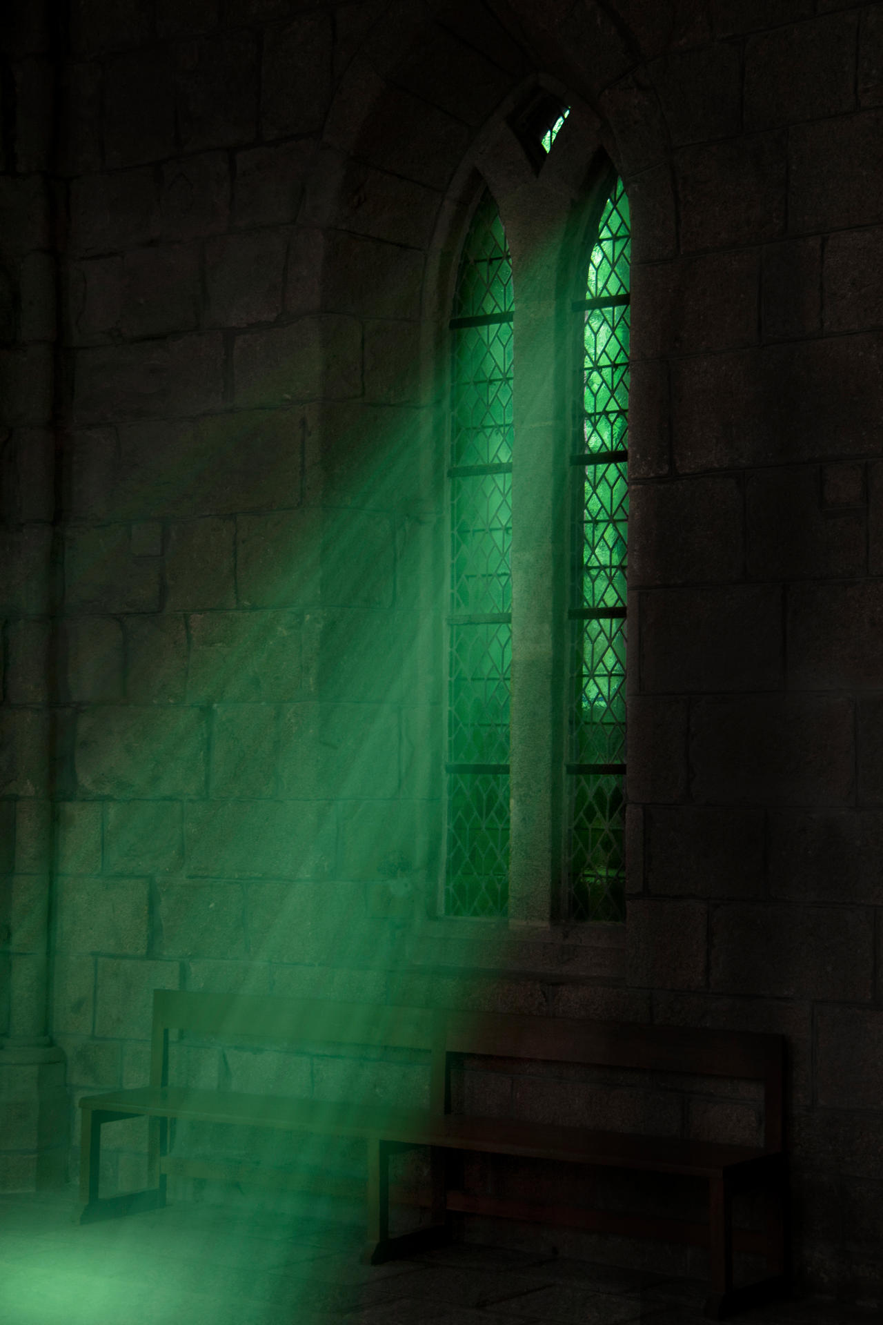Slytherin Common Room by NelPhotography