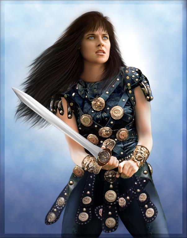 Warrior Princess Xena by BlackXena