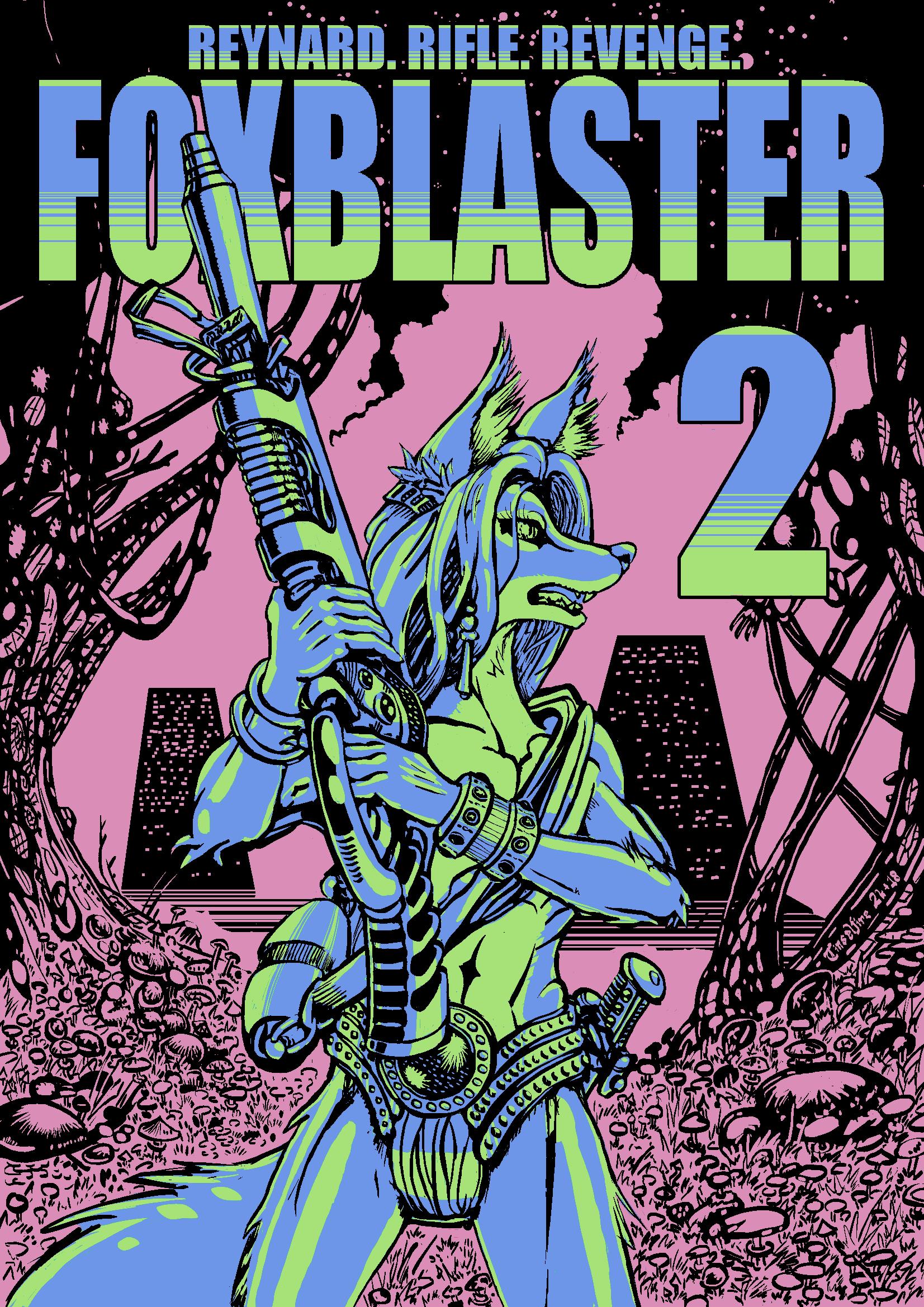 Anthro Challenge #152: Foxblaster 2 by Tinselfire