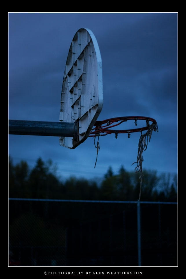 Deserted Hoop by Weatherstone