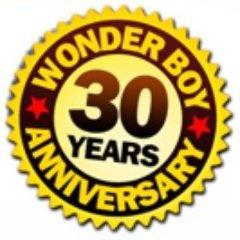 Wonder Boy 30th Anniversary Logo