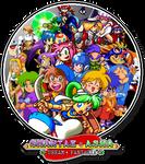 Shantae and Asha: Playable Character Globe by mangamanvii