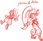 Shantae And Asha 1