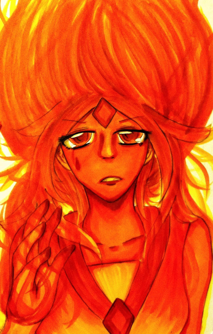 Flame Princess by CrazyAnime3