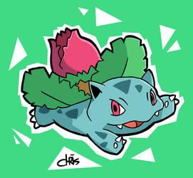 #002 - Ivysaur