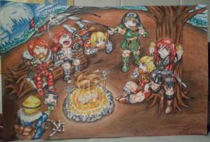 Castlevania Party Simons by Rubens77belmont