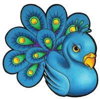 Peacock by BlueStarr