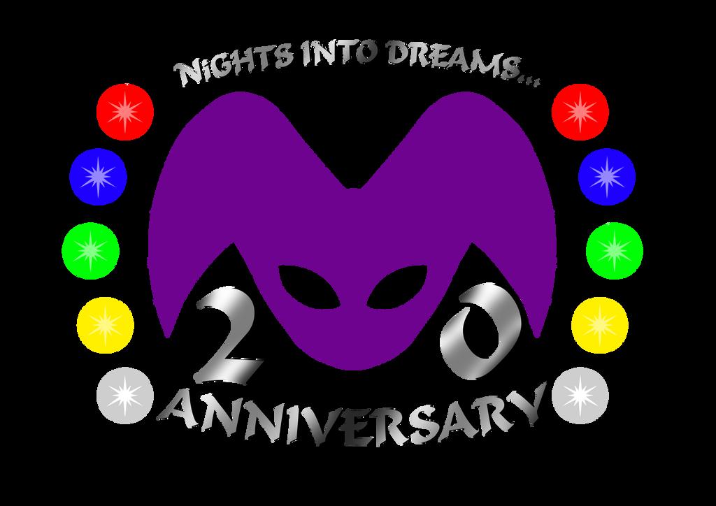 NiGHTS 20th Anniversary T-shirt Design by Dex-la-Cabra