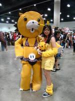 AX09 - Pikachu and Kon by KyuTeeKay