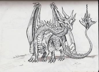 Dragon by roryraudvee