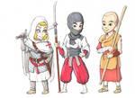 Female Warrior Monks