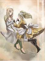 Em and Lissa - Eternal Bonds Artbook by Velurie
