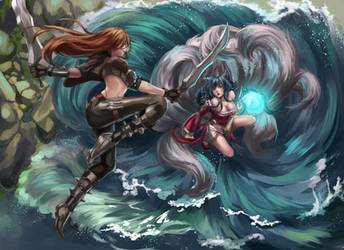 League of Legends 2014 Faceoff Contest by Velurie