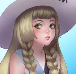 Pokemon Lillie by Velurie