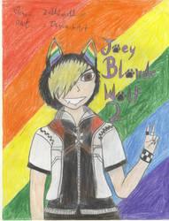 JoeyBlondeWolf2 fanart by Zeldaluver11
