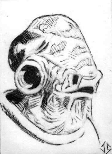 PSC: Admiral Ackbar - Inks by JasonShoemaker