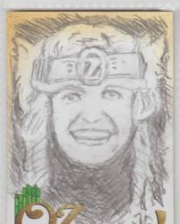 Oz: The Early Years - Princess Ozma Sketch Card