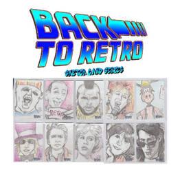 Back To Retro Sketchcards