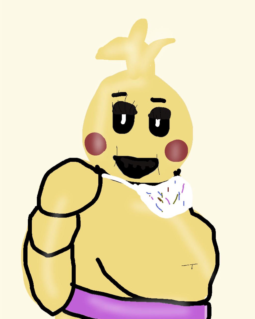 Fat Toy Chica By BonniethebunnySwagge On DeviantArt