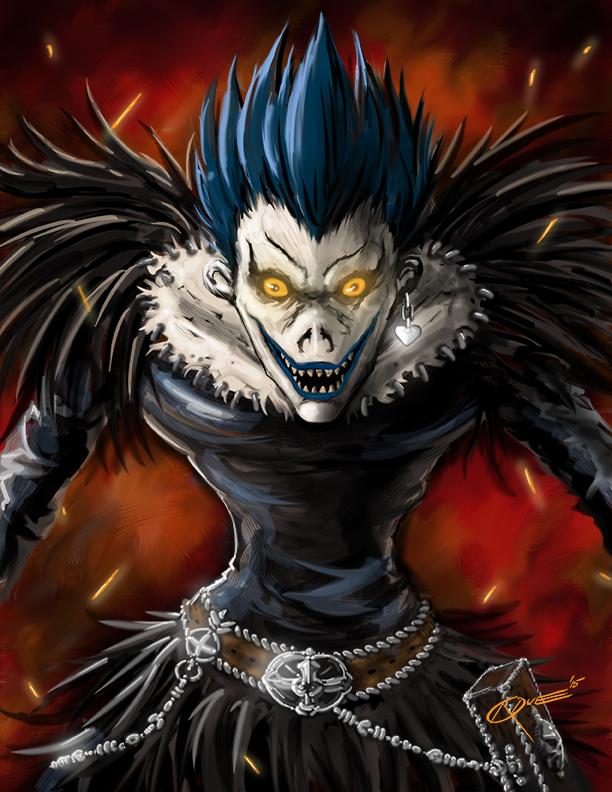 Ryuk Death Note by DAA-TRUTH