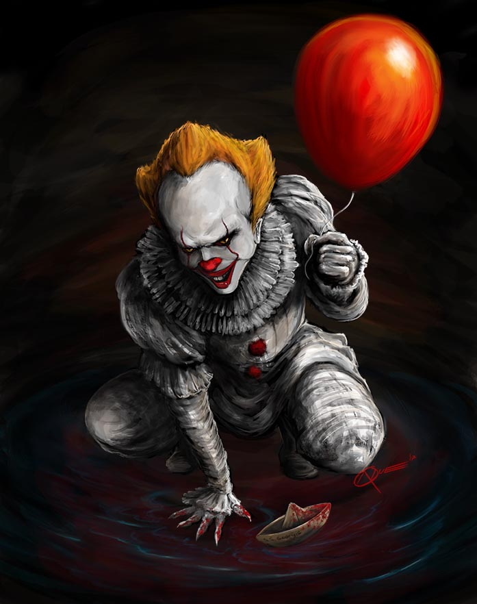 IT Pennywise by DAA-TRUTH