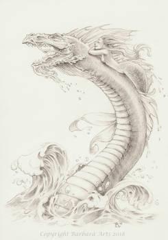 MerMay #10 - Dragon