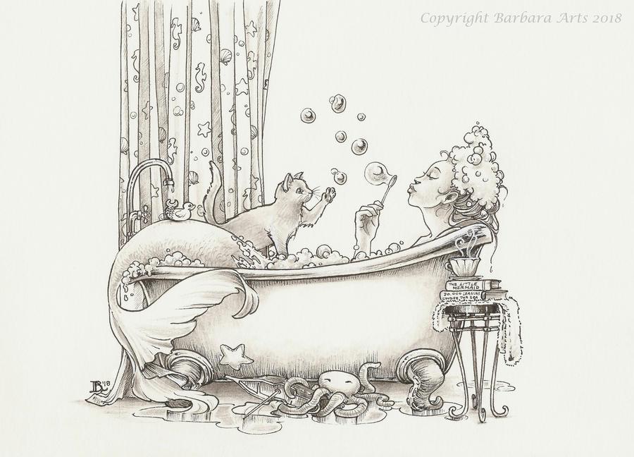 MerMay #15 - Bathtub