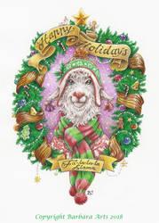 Fa la la la Llama and a Happy New Year! by Ejderha-Arts