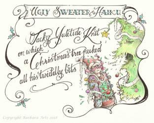 Ugly Sweater Haiku by Ejderha-Arts