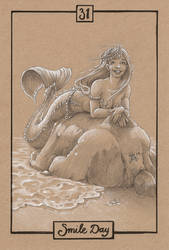MerMay 2019 #31: Smile Day by Ejderha-Arts