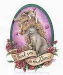 Lovely Lama Glama Gratitude