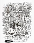 Inktober Halloween