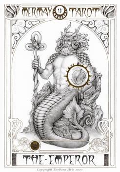 MerMay 2020 Tarot - 4. The Emperor