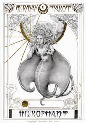MerMay 2020 Tarot - 5. The Hierophant