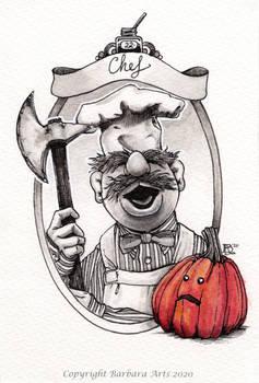 Inktober 2020 #22. Chef