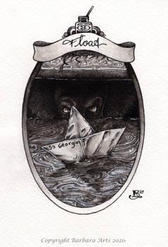Inktober 2020 #28. Float