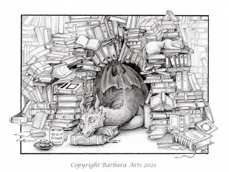 31 Days of Art - #15 Books