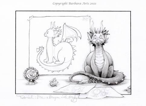 Draw a Dragon Tutorial with ryky